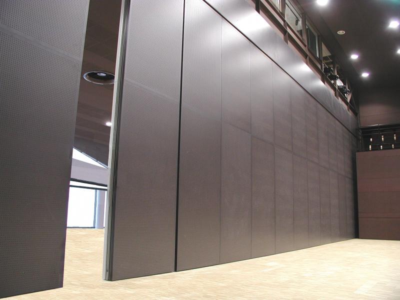 Silence murs mobiles produits algaflex murs mobiles et cloisons exten - Cloison coulissante isolation phonique ...